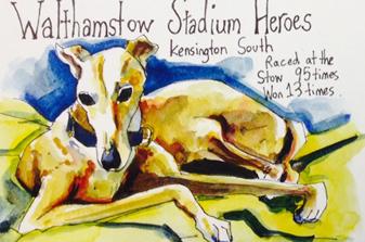Walthamstow Stadium Heroes by Darren Hayman