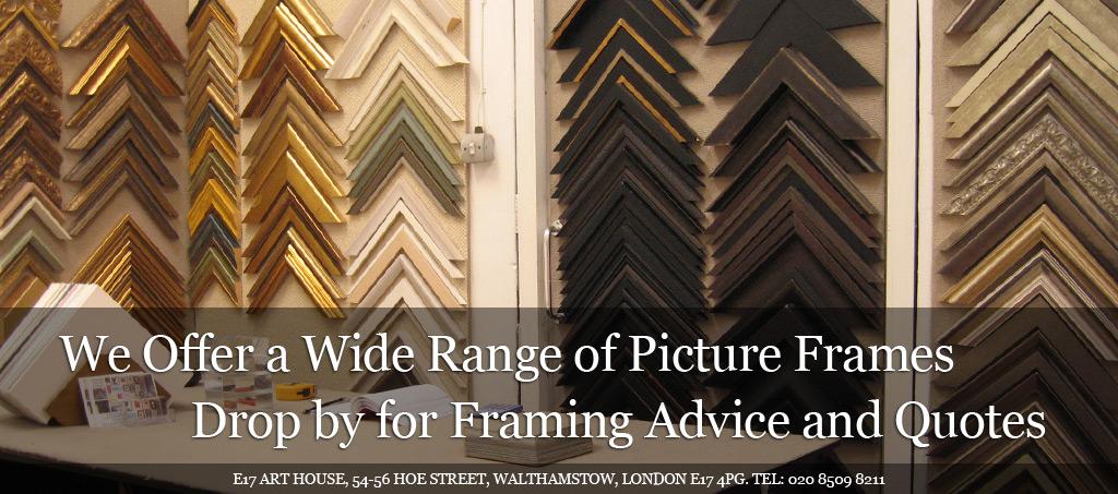 E17 Art House Frames
