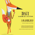 Tasty Art Show at E17 Art House Walthamstow, Appetite 2013