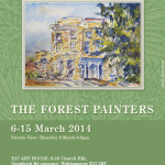 Forest Painters art exhibition poster