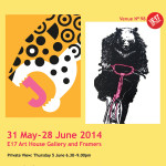 Zoology art exhibition 2014 at E17 Art House