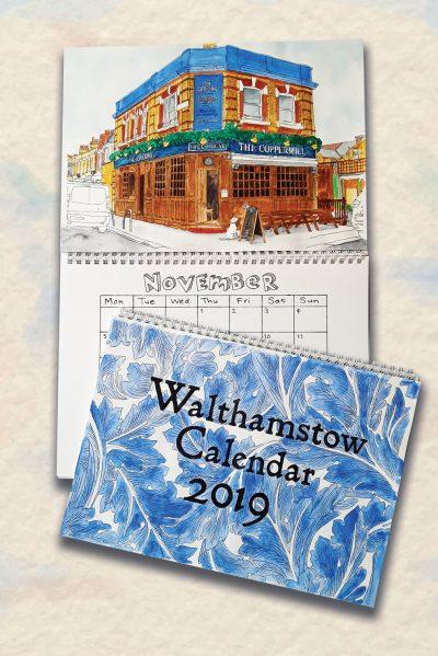 Walthamstow Calendar by Emma Scutt